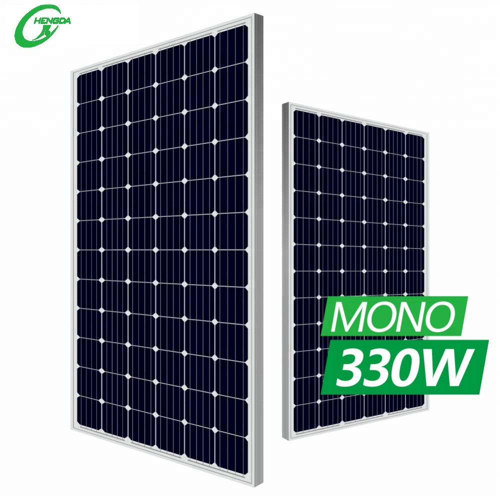 HD 72 Cells mono solar panel 350W home system